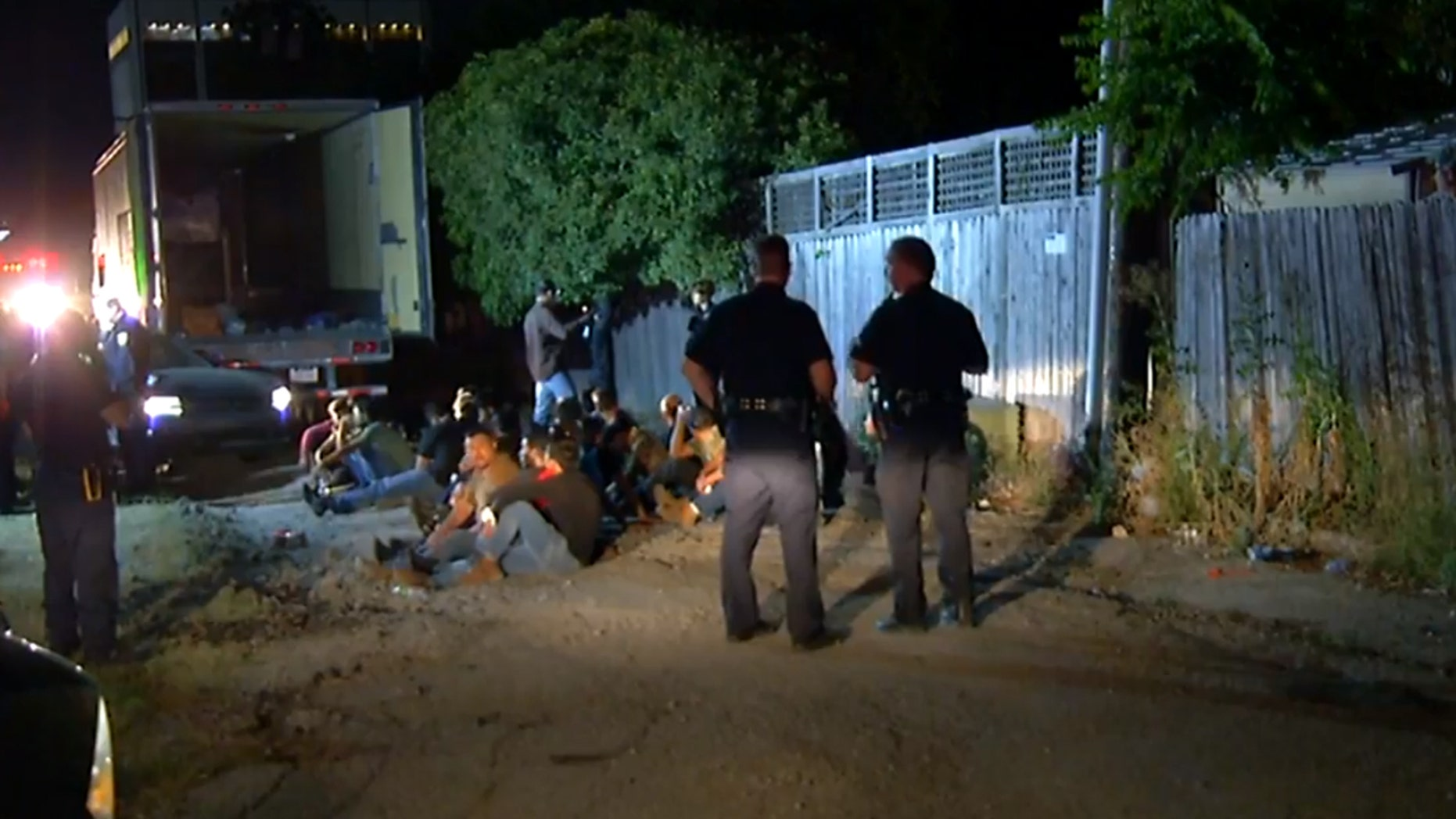 Dozens of illegal immigrants, including some children, were discovered in a tractor-trailer near the San Antonio International Airport in June, officials said. Some of those in the group told a reporter from FOX San Antonio they were from Guatemala, Mexico or Honduras.
