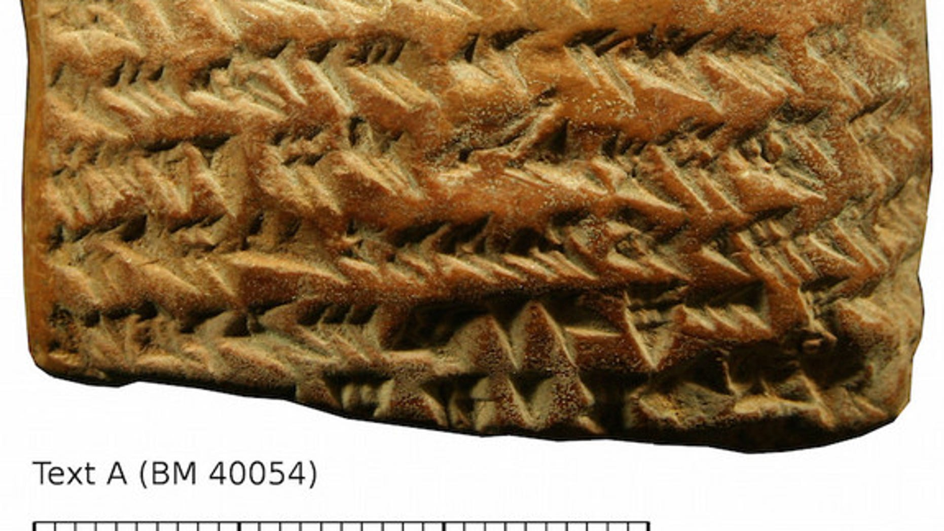 A newly deciphered Babylonian tablet reveals the path of Jupiter.