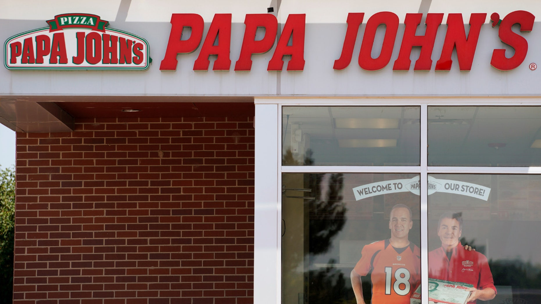 A Papa John's store in Westminster, Colorado.