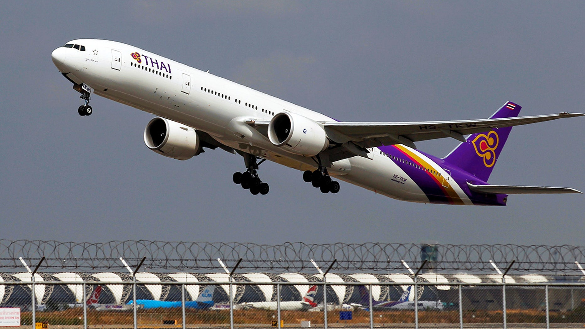A Thai Airways passenger was forced to pay a name change fee after the online system would not let him type in his full name.