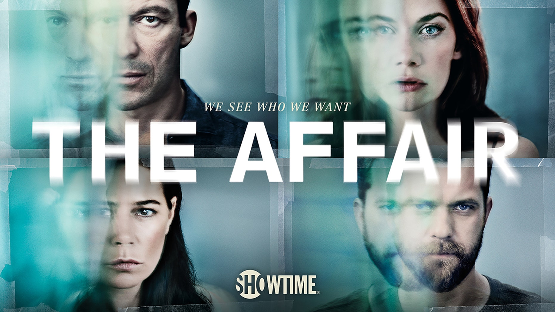 Maura Tierney as Helen, Dominic West as Noah Solloway, Ruth Wilson as Alison and Joshua Jackson as Cole in The Affair (season 3 key art). - Photo: Courtesy of SHOWTIME