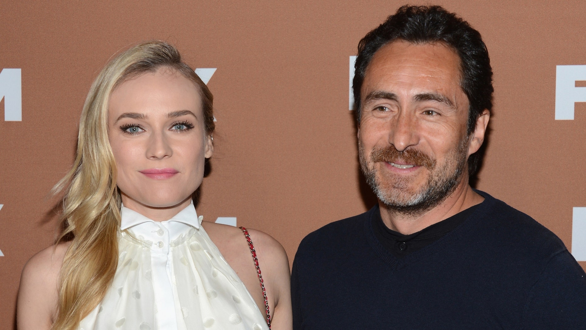 NEW YORK, NY - MARCH 28:  Diane Kruger and Demián Bichir attend the 2013 FX Upfront Bowling Event at Luxe at Lucky Strike Lanes on March 28, 2013 in New York City.  (Photo by Dimitrios Kambouris/Getty Images)
