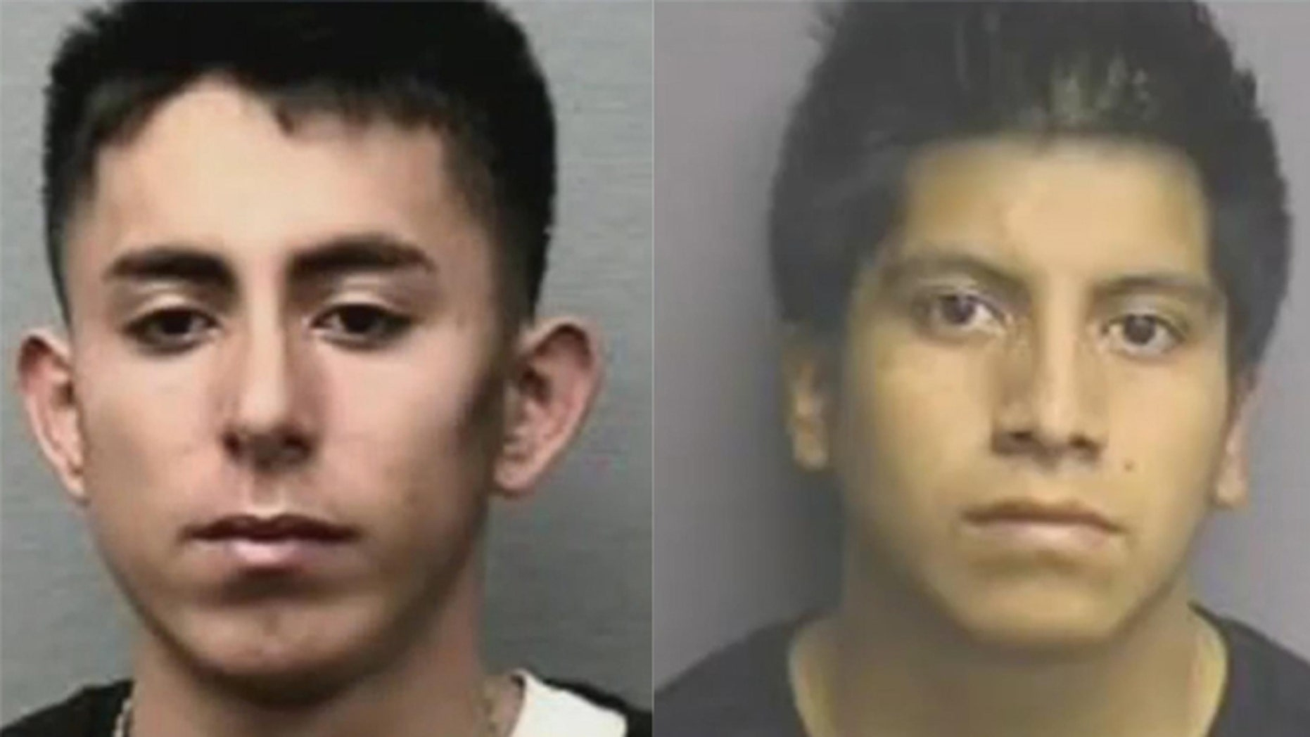 Joanthan Adonay Benitez (left) and Jose Edgar Vasquez-Mejia (right) are wanted by police.