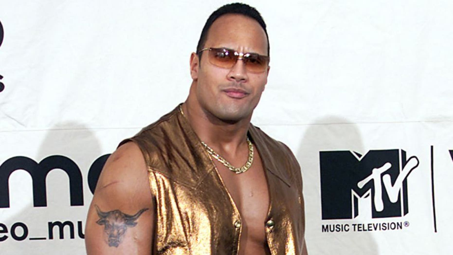 The Rock at MTV Video Music Awards 2000 held at Radio City Music Hall September 7, 2000 Photo byNick Elgar/ImageDirect