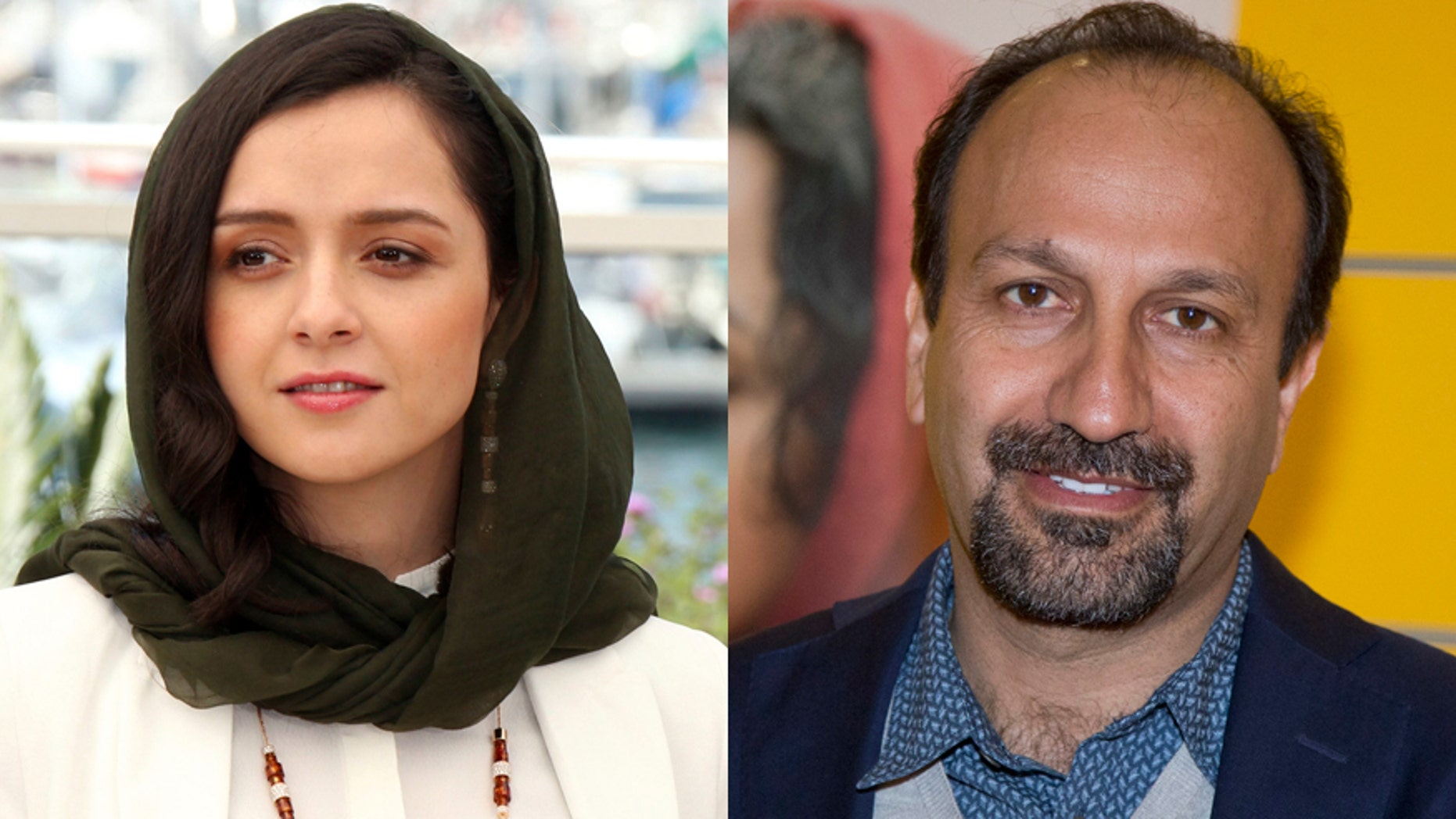 Taraneh Alidoosti, left, and Asghar Farhadi say the won't attend the Oscars due to the travel order.