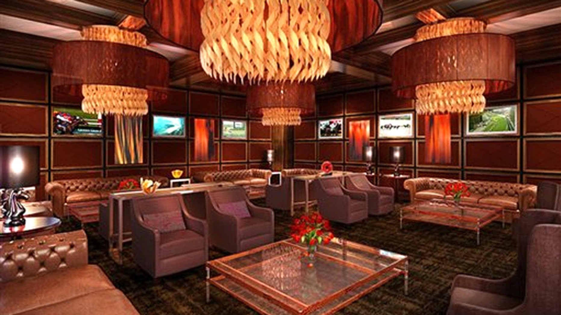 Churchill Downs' clubhouse has a new ultra-exclusive section called The Mansion, an ultra-exclusive area that will be available for Kentucky Derby fans starting in 2013.