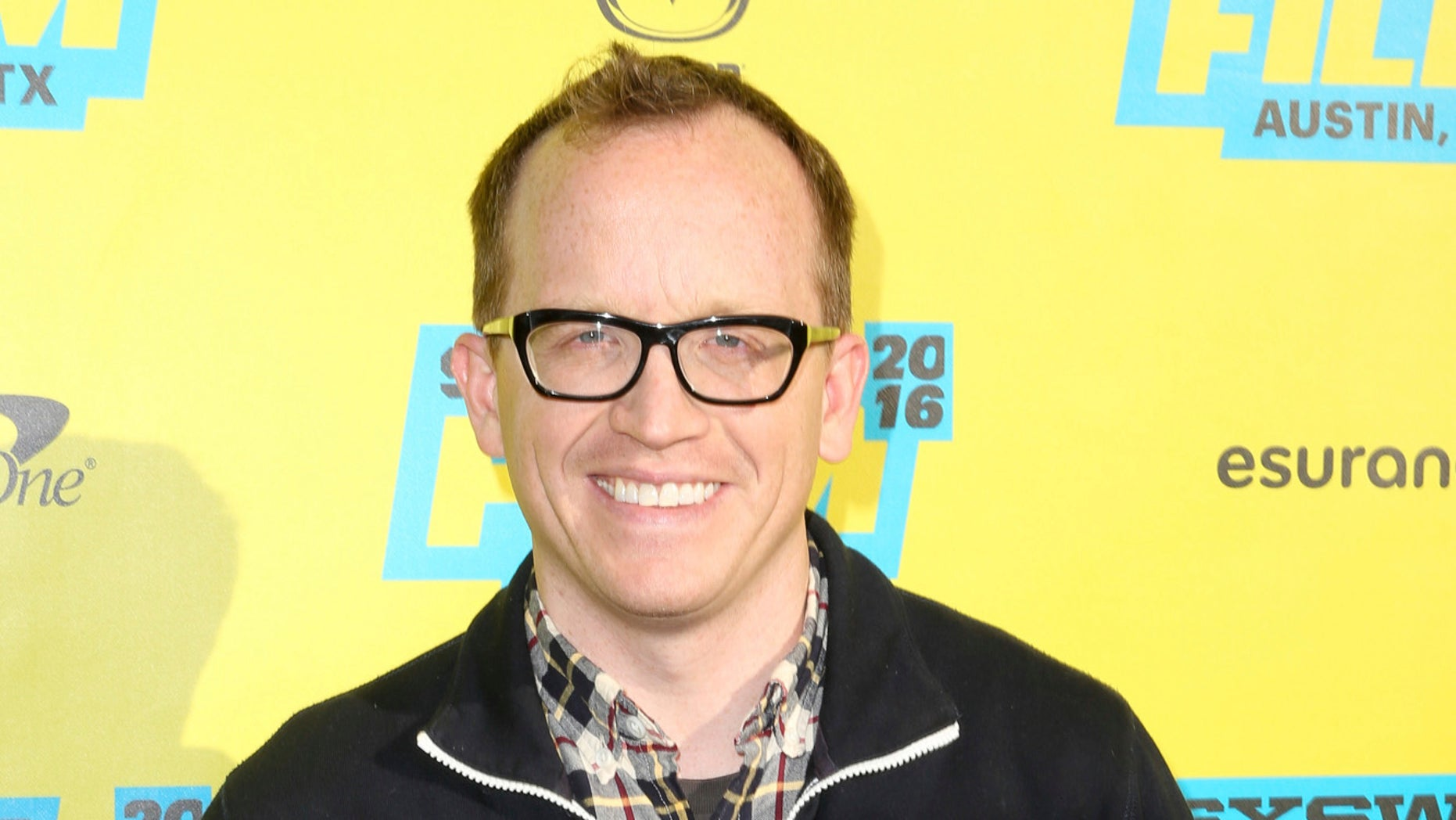"FILE - In this March 13, 2016 file photo, Chris Gethard arrives at the screening of ""Don't Think Twice"" during South By Southwest in Austin, Texas. Gethard opens his latest one-man show by making fun of his psychologist. He then discusses his lifelong struggle with depression and the time in 2001 he tried to end it all by driving into a truck. (Photo by Rich Fury/Invision/AP, File)"