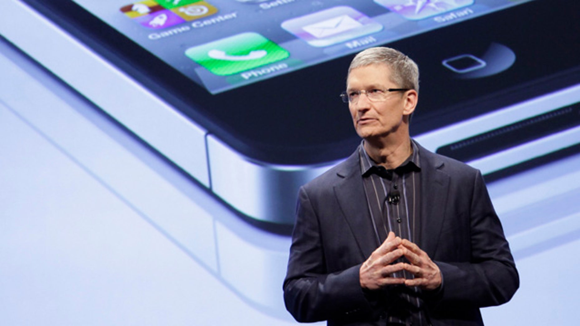Apple CEO Tim Cook has big shoes to fill.