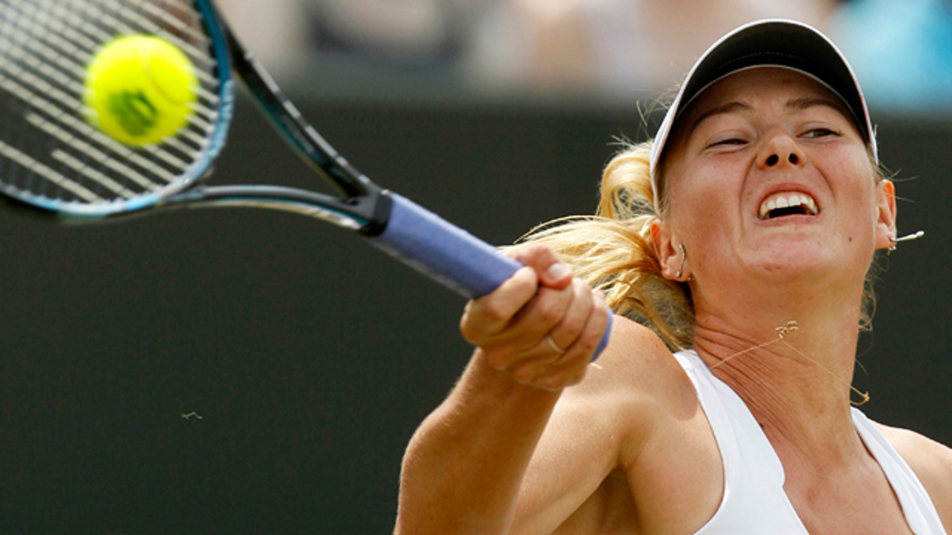 A notorious grunter, Russia's Maria Sharapova delivered the loudest recorded grunt -- 105 decibels -- in 2009.