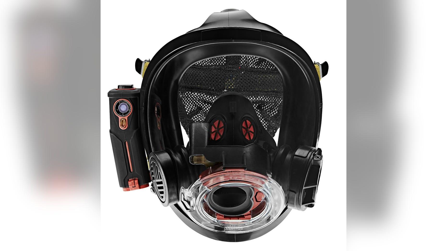 Scott Sight, a new in-mask thermal intelligence system. (Scott Safety)