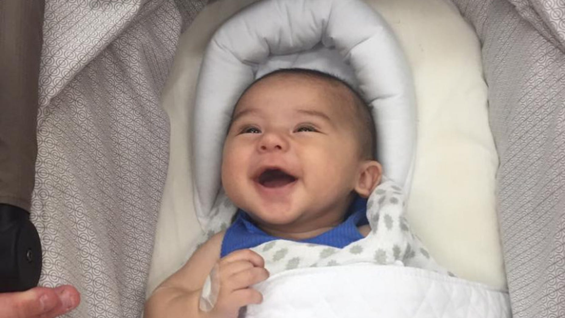 Thomas was diagnosed with terminal cancer at 11 weeks old.