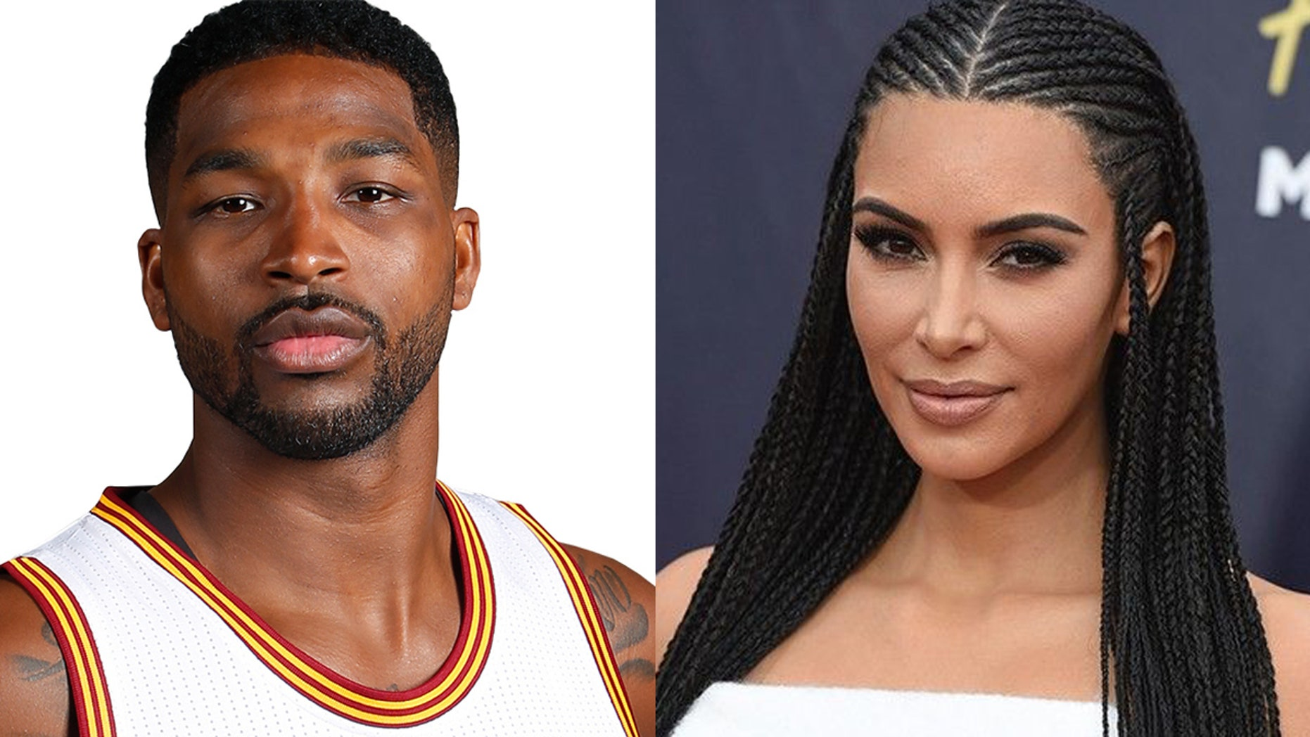 Tristan Thompson and Kim Kardashian have put aside their differences following his cheating scandal in honor of Khloe's 34th birthday.