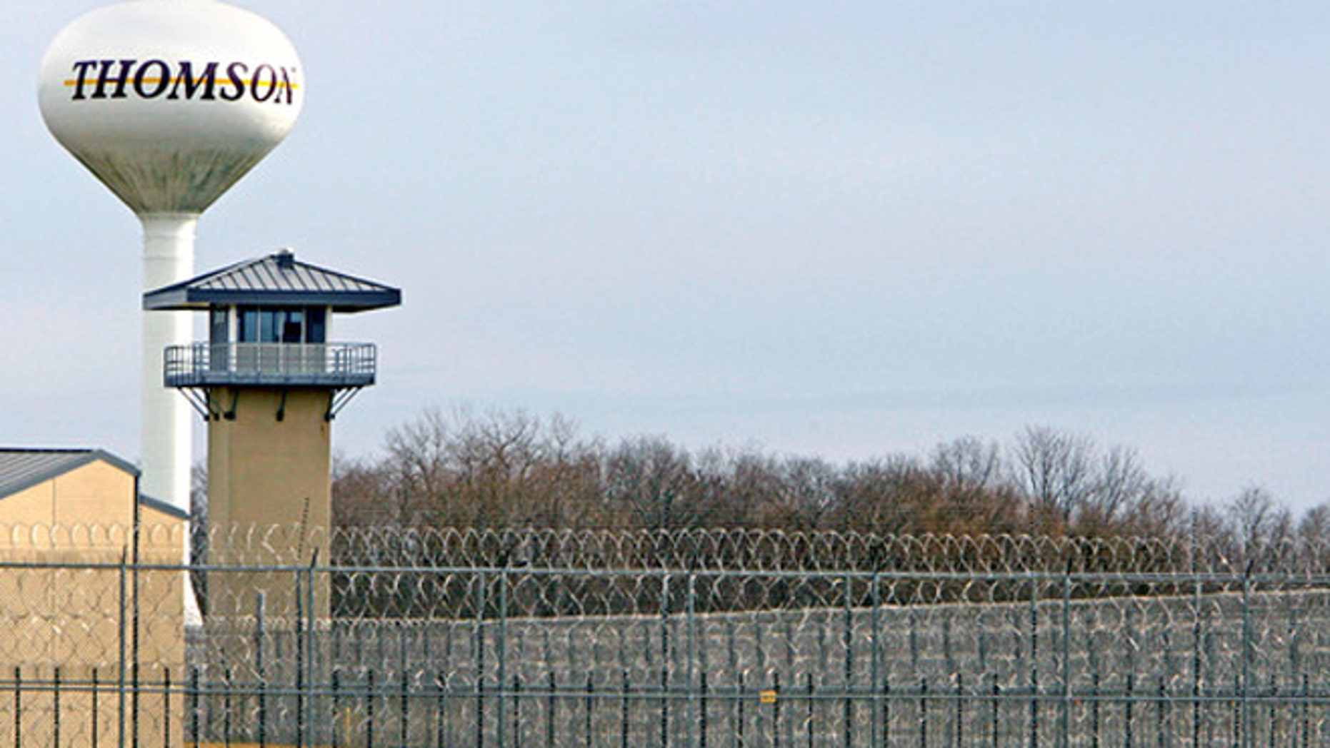 Shown here is the Thomson Correctional Center in Illinois.