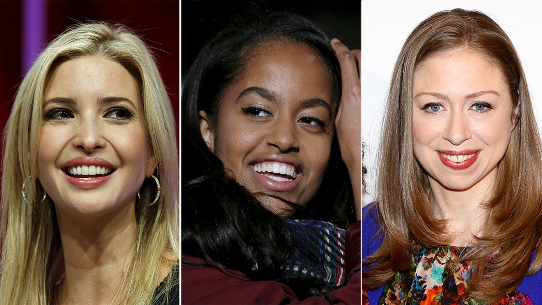 49beb5675c4 First daughters Ivanka Trump and Chelsea Clinton came to the defense of  Malia Obama.