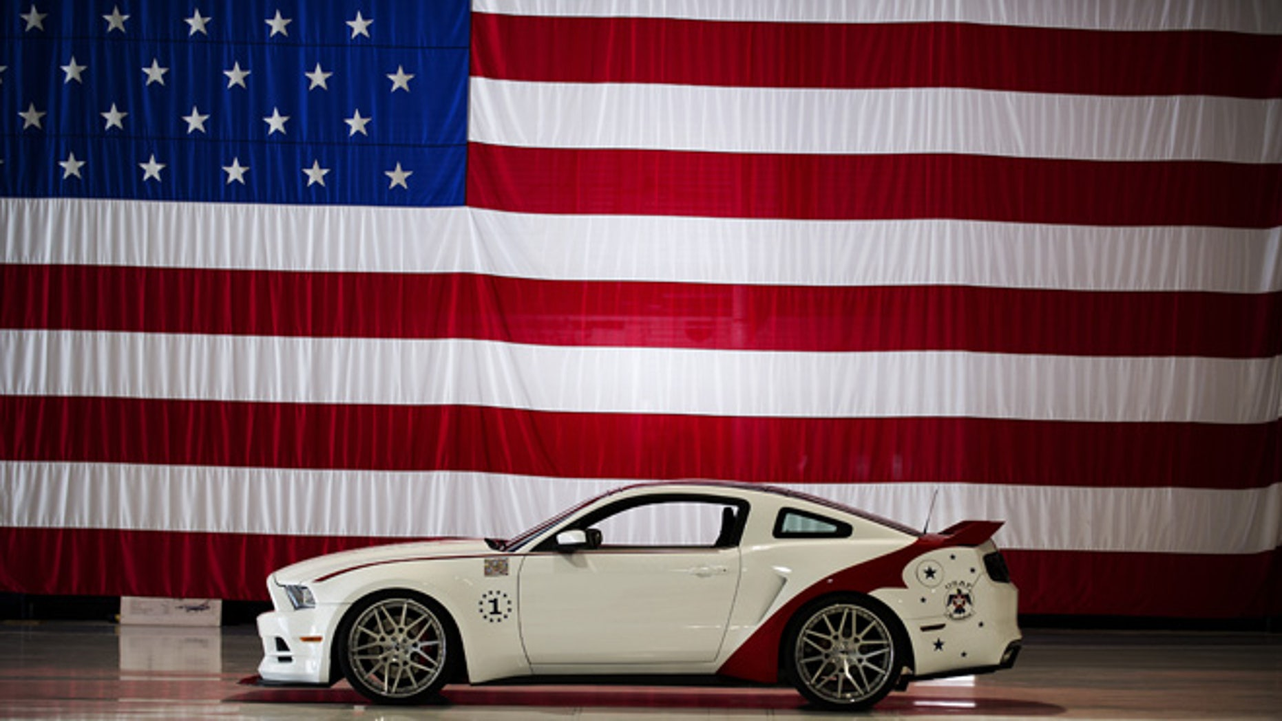 U.S. Air Force Thunderbirds edition 2014 Ford Mustang