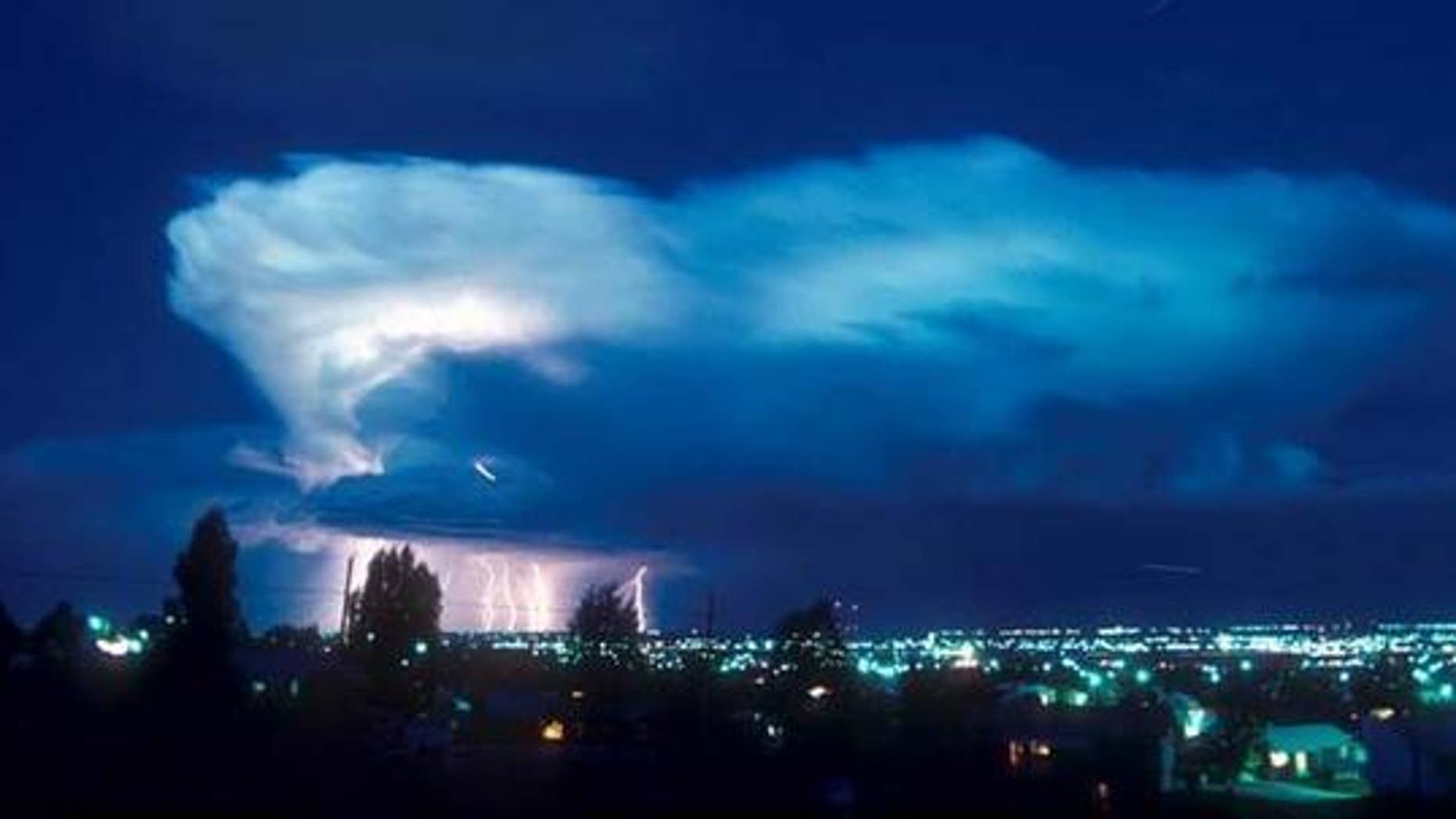 Bacteria living in storm clouds could seed the ice crystals that form rain, new research suggests