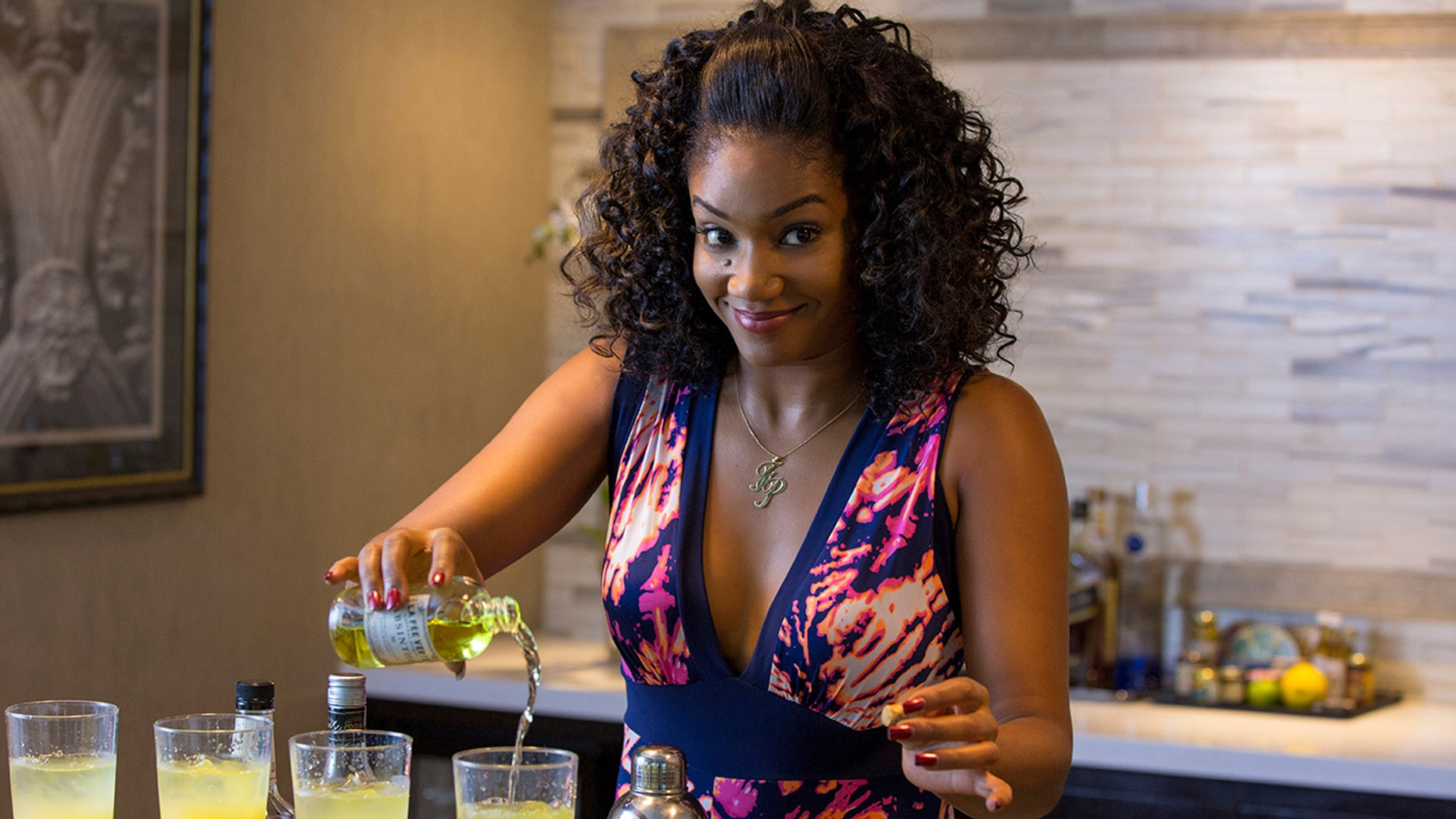 """This image released by Universal Pictures shows Tiffany Haddish in a scene from the comedy """"Girls Trip."""" (Michele K. Short/Universal Pictures via AP)"""