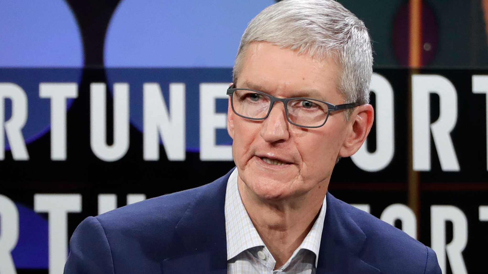 Apple CEO Tim Cook speaks during The Fortune CEO Initiative 2018 Annual Meeting, Monday, June 25, 2018, in San Francisco. (AP Photo/Marcio Jose Sanchez)