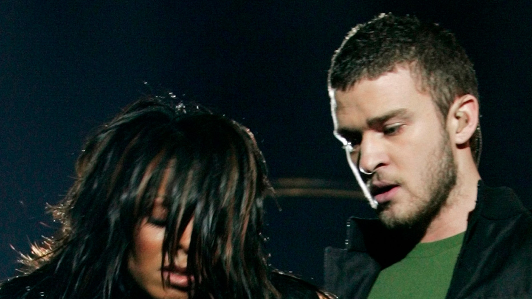 """Justin Timberlake is gearing up for his first Super Bowl Halftime Show gig since the notorious """"wardrobe malfunction"""" with Janet Jackson, seen here."""