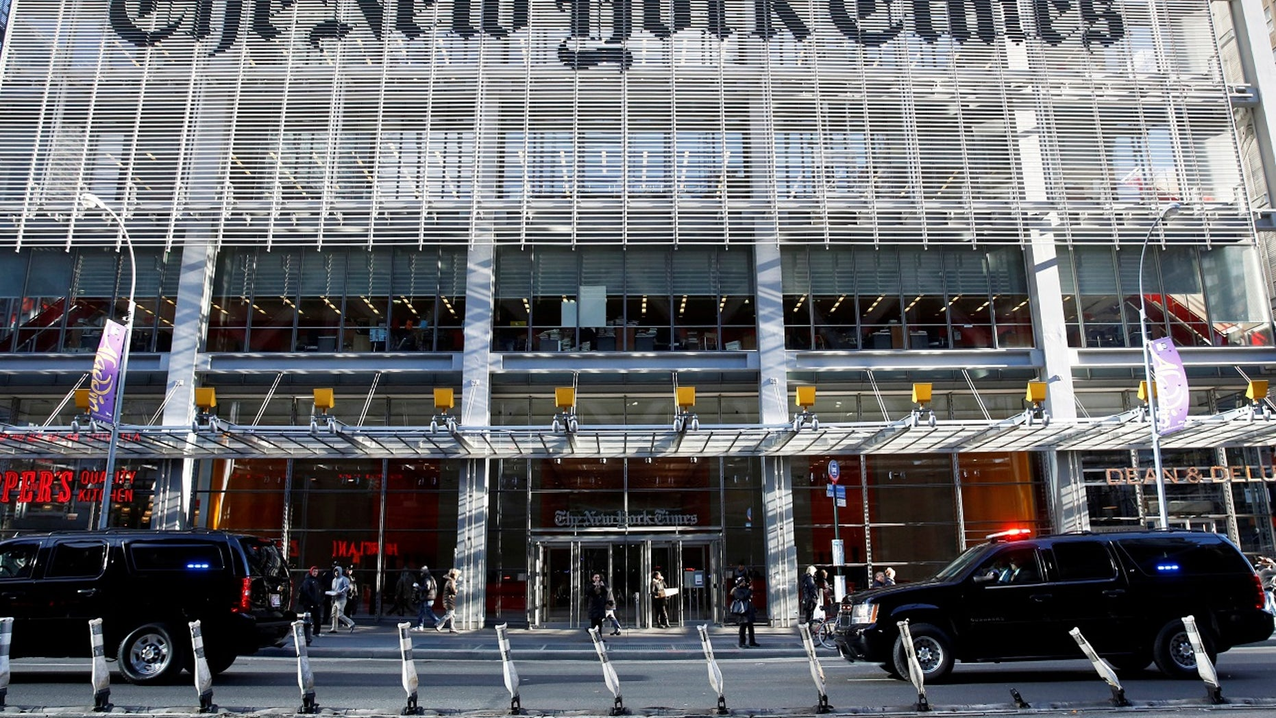 The New York Times was slammed Tuesday for spreading the holiday fire over the romanticization of the Lebanese militant group Hezbollah.