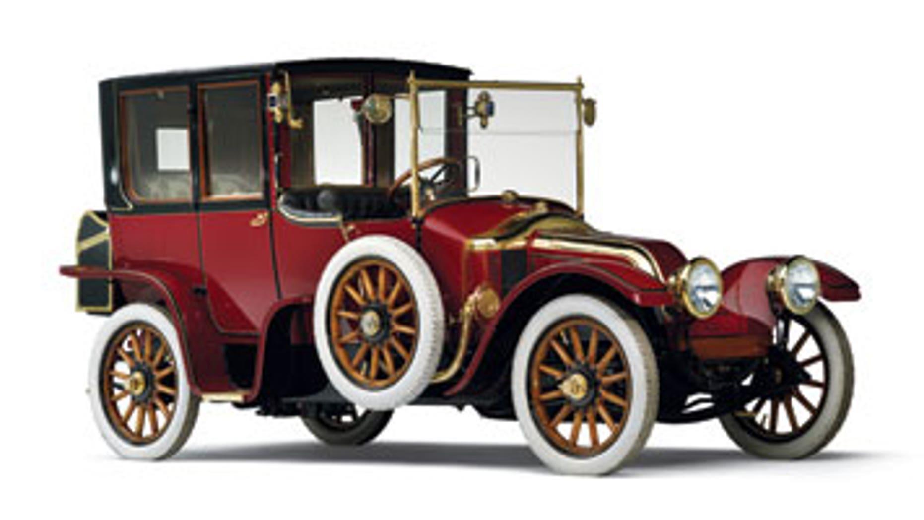 1912 Renault Type CB Coupé de Ville
