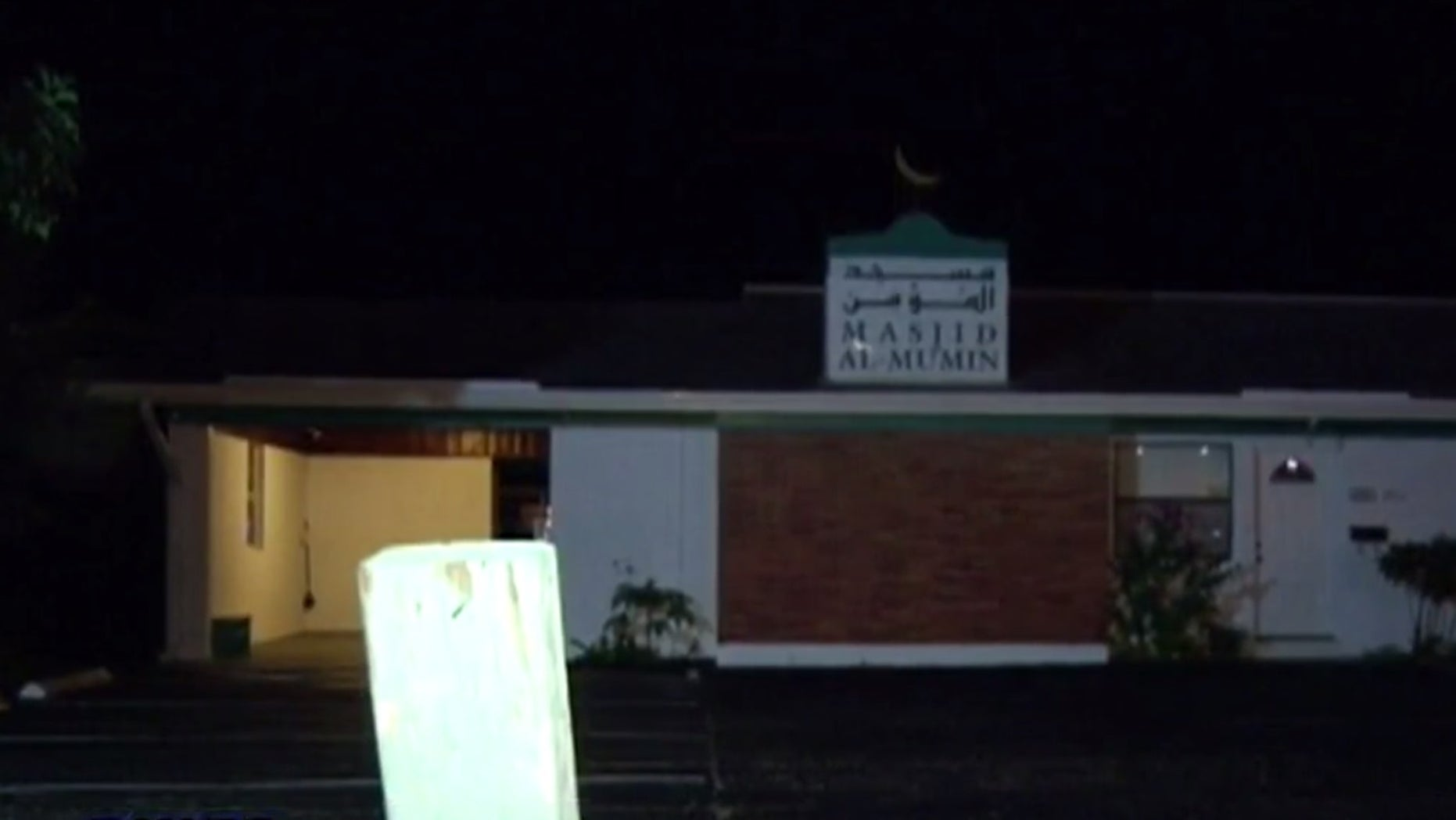 The Islamic Society of Central Florida Masjid Al-Mumin Mosque in Titusville.