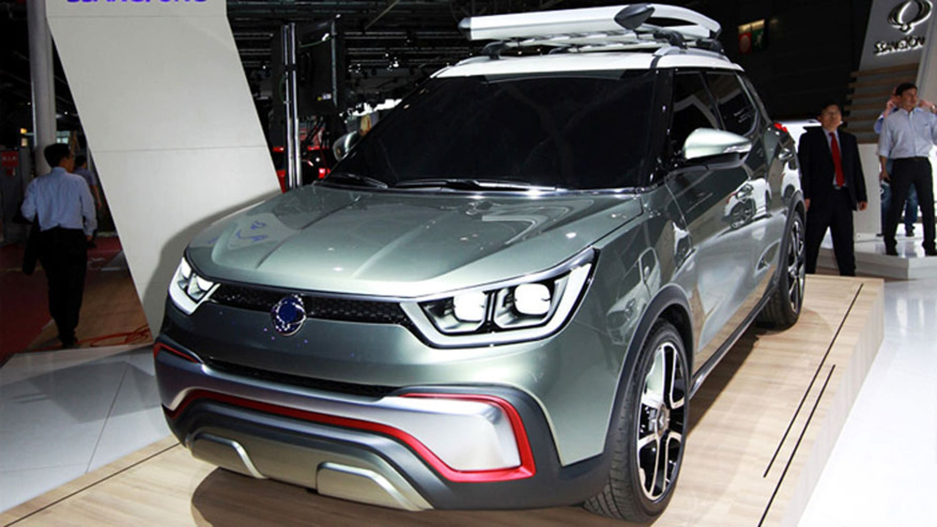 Ssangyong Motor XIV Concept
