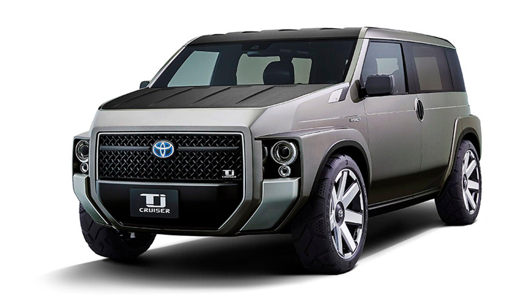 Toyota Tj Cruiser Hybrid Is A Tiny Sport Utility Minivan Or Something