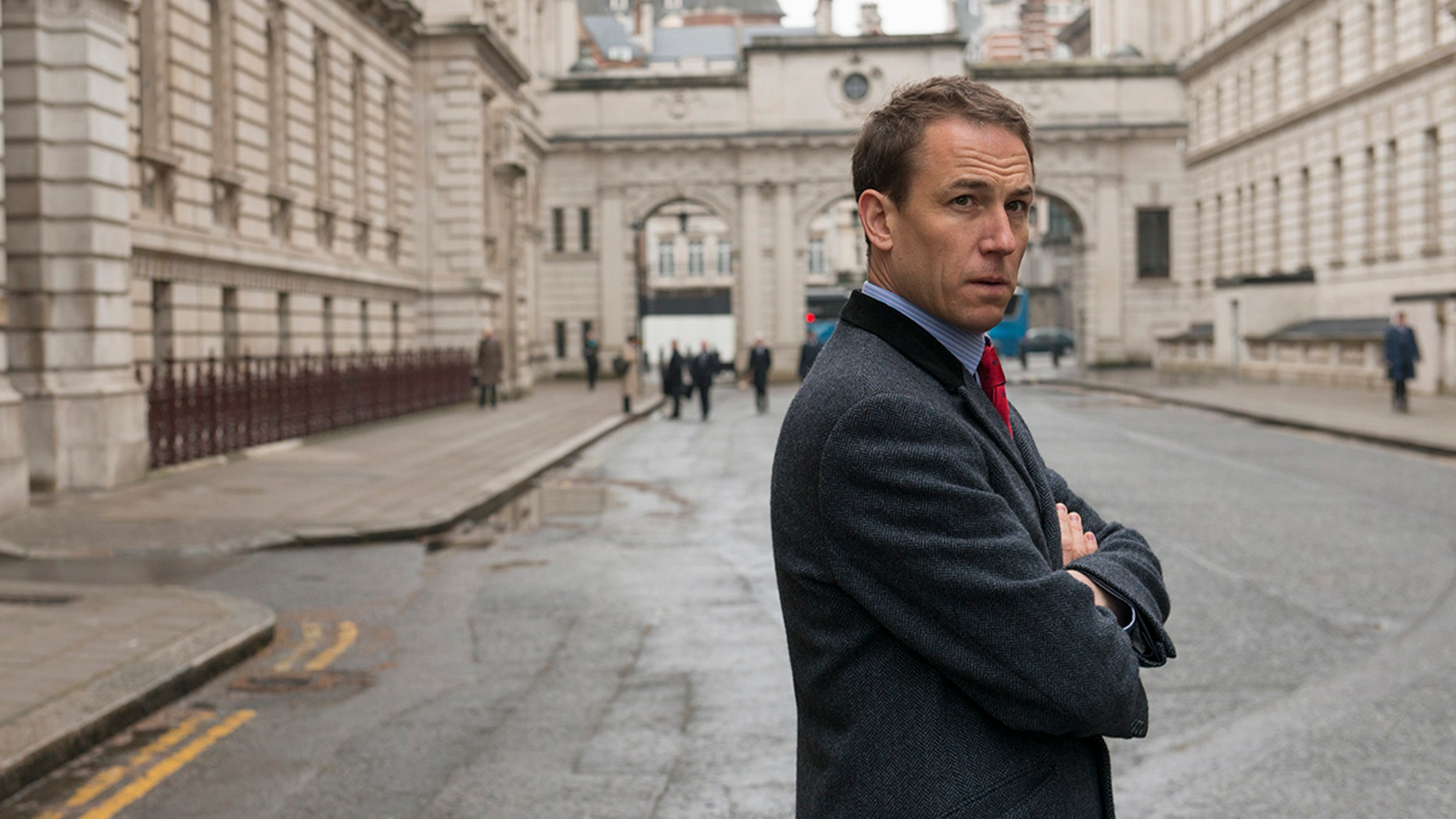 """Tobias Menzies, pictured here in the AMC series """"The Night Manager,"""" will take over for Matt Smith in Season 3 of Netflix's """"The Crown."""""""