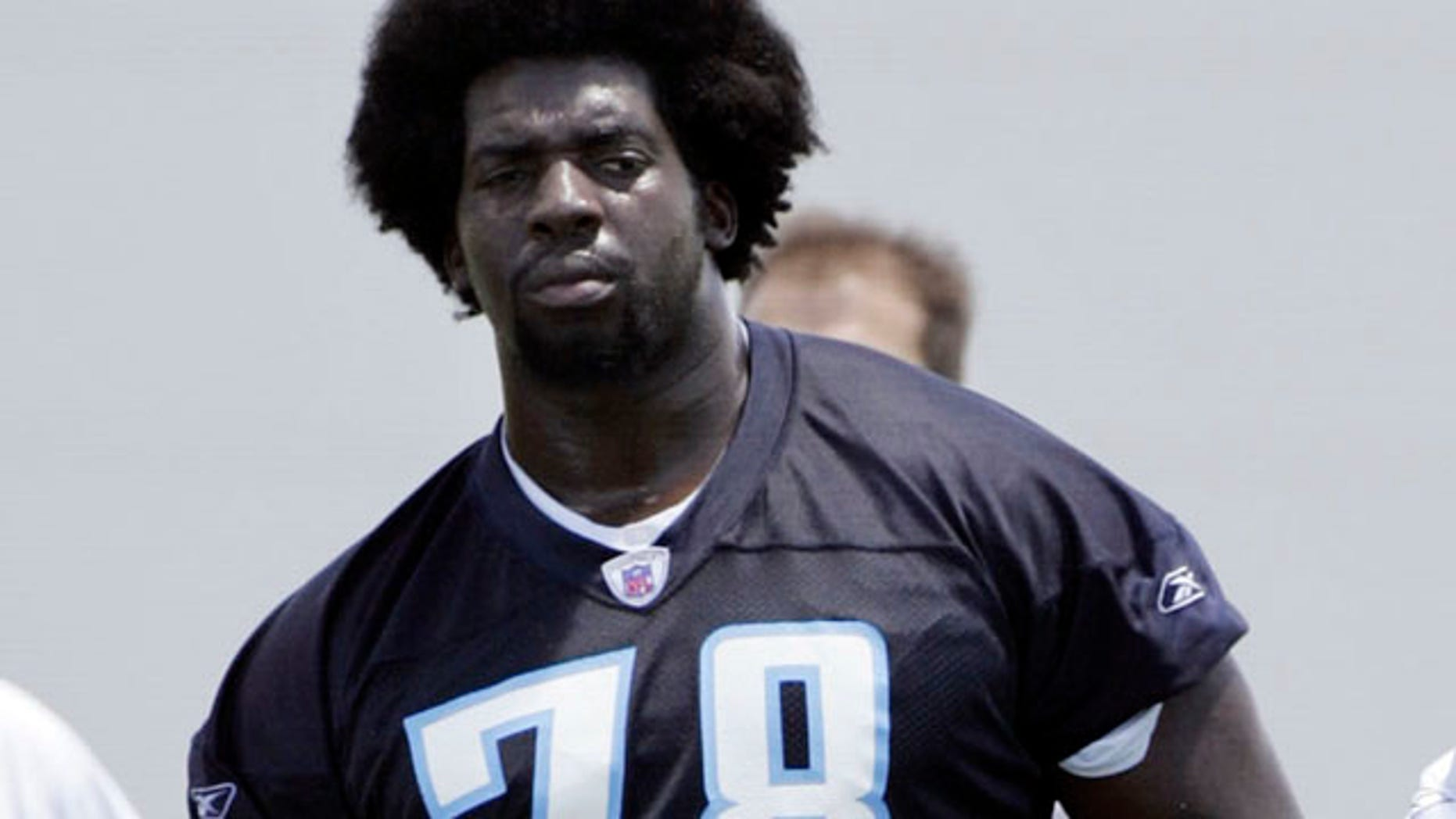 FILE: Tennessee Titans' Todd WIlliams watches from the sidelines during NFL football minicamp in Nashville, Tenn.