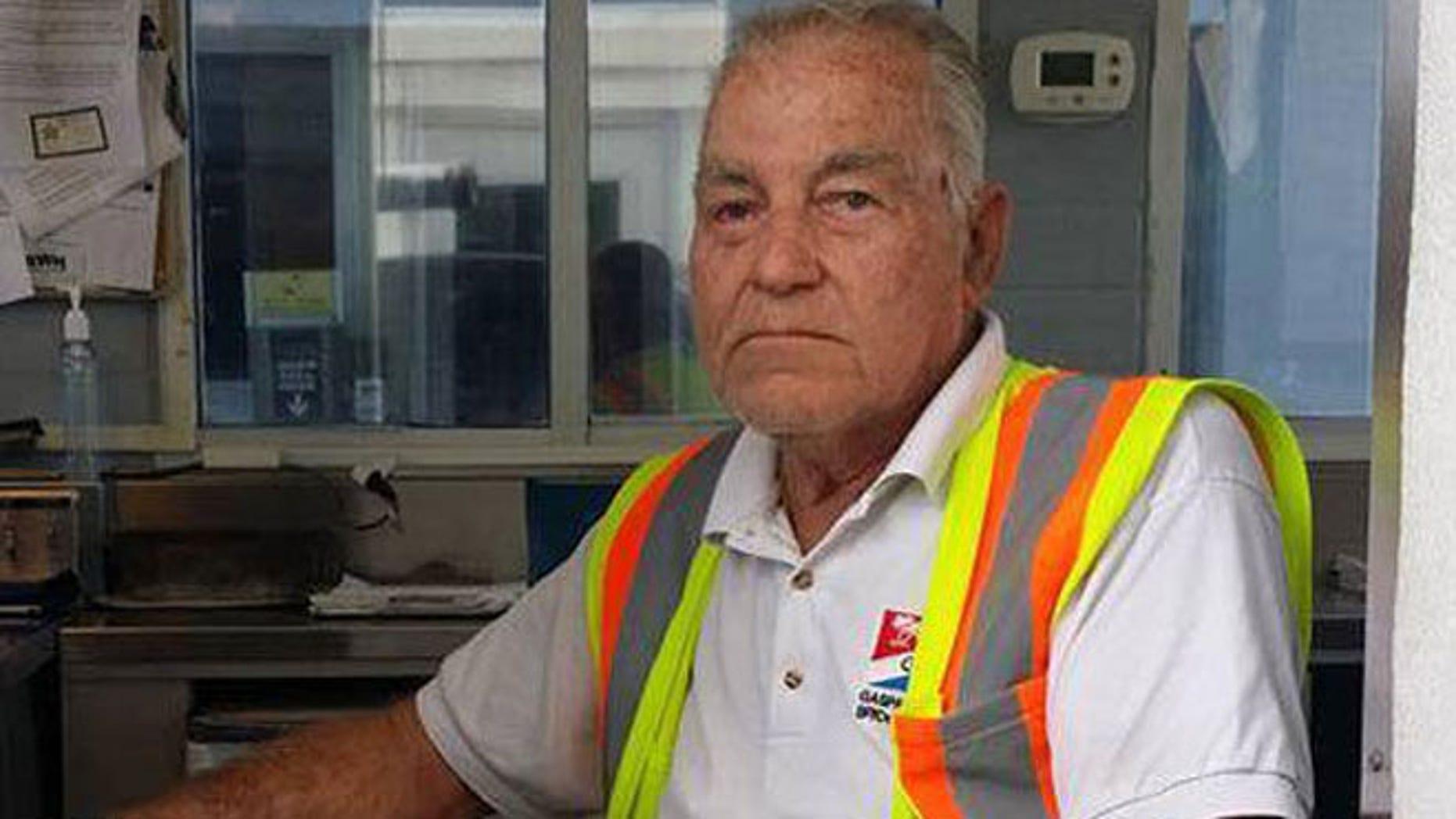 Vladislav Samsonov was fired for paying a customer's $5 toll.