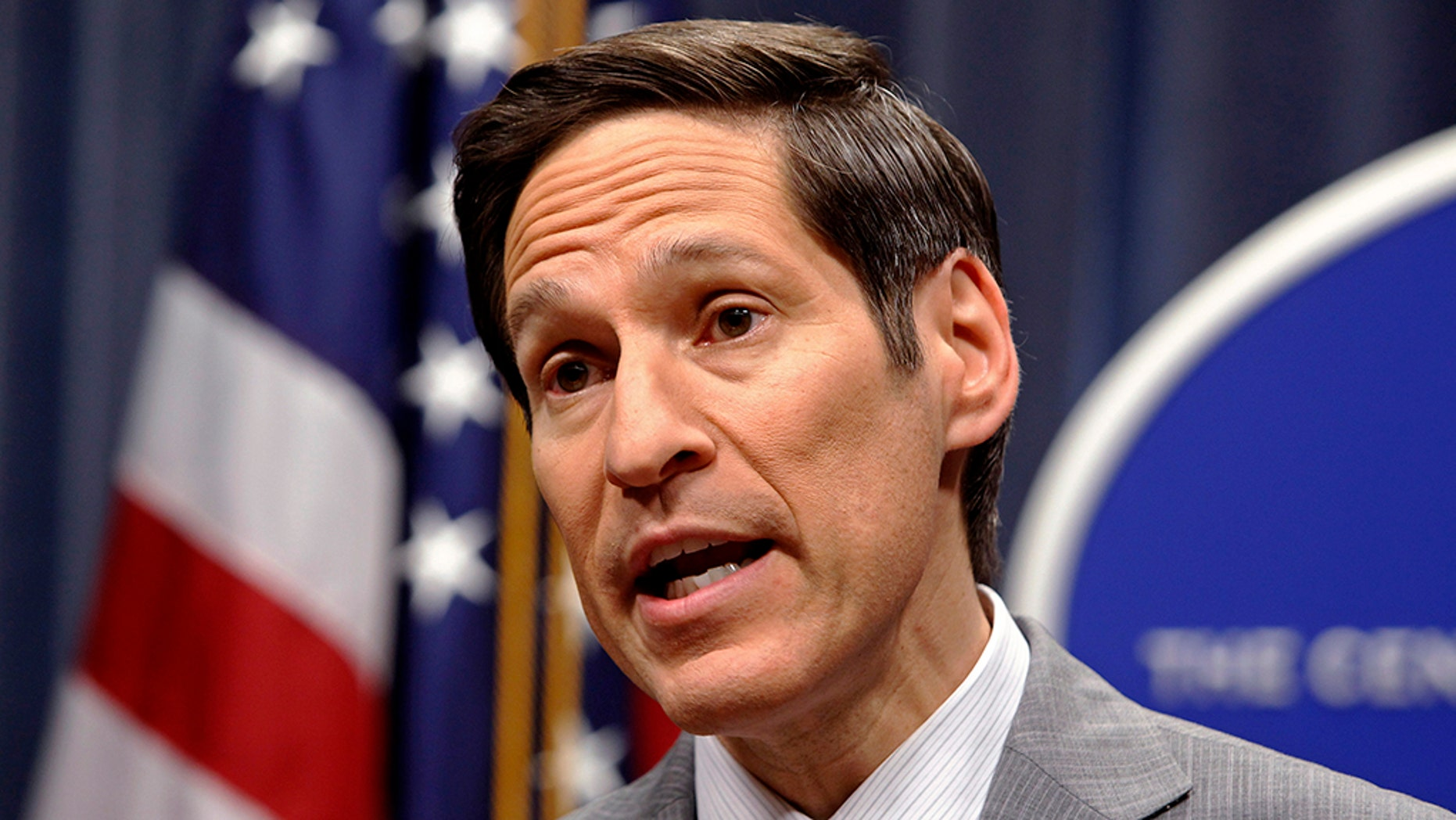 Dr Tom Frieden, former director of the CDC, has been arrested on suspicion of sexually harassing a woman at his Brooklyn apartment.