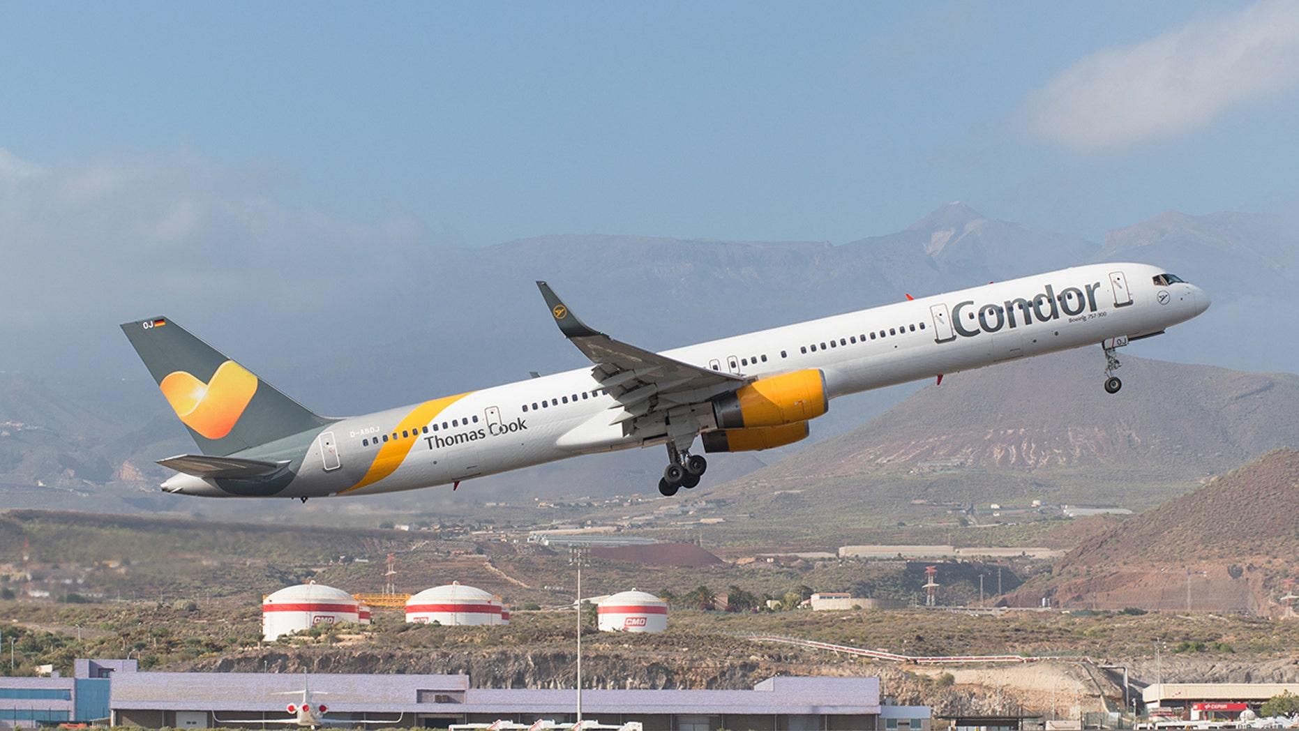 Flight MT2653 was en route from Cuba to the U.K.