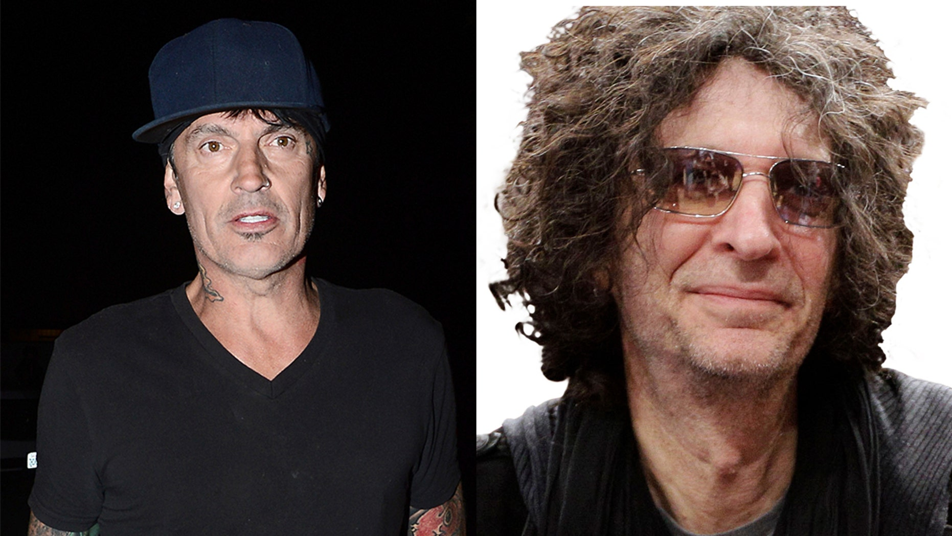 Tommy Lee calls out Howard Stern on Twitter for blaming him for ex Heather Locklear's 'recent troubles.'