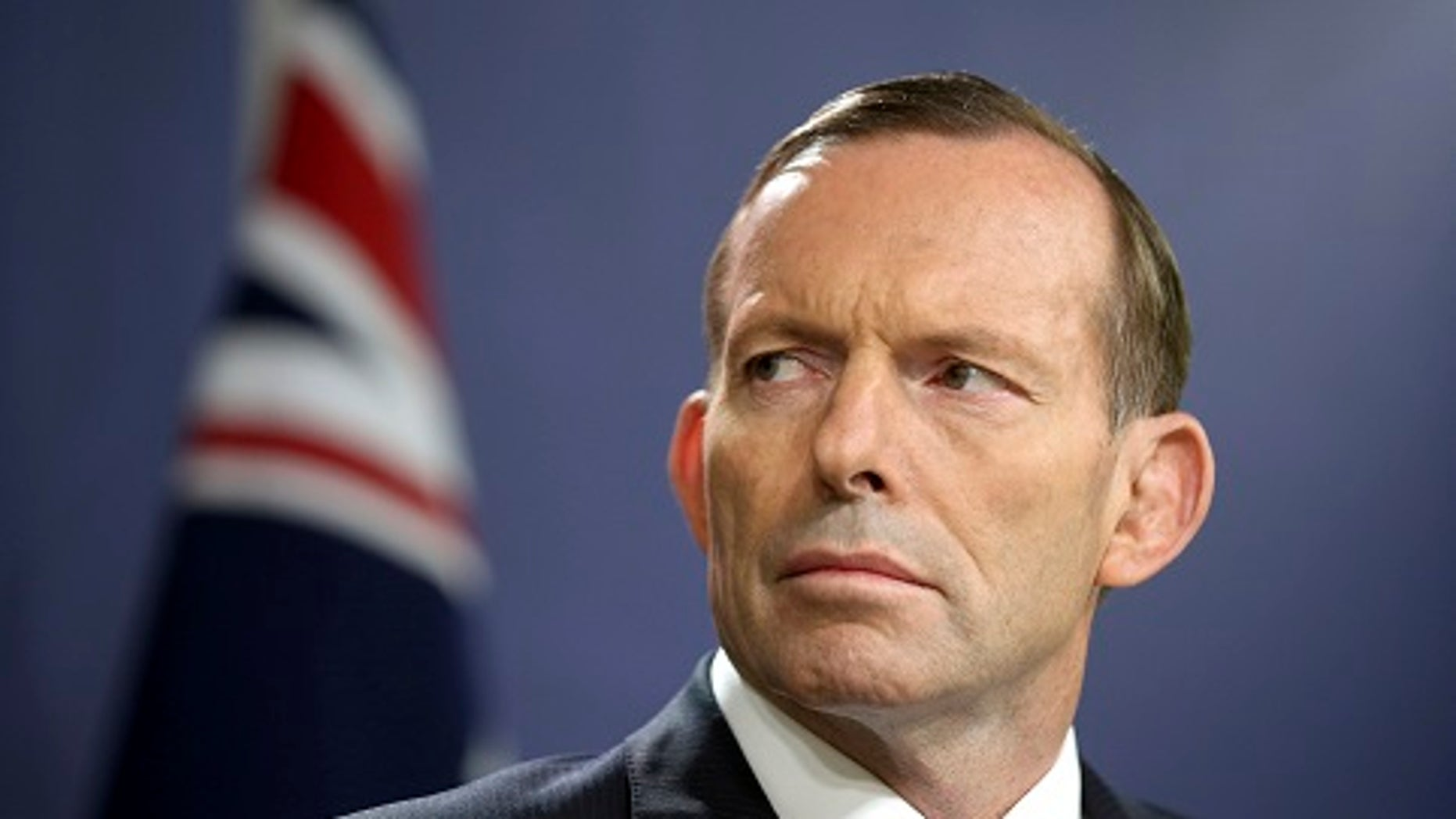 Former Australian Prime Minister Tony Abbott claimed he was head-butted by a gay rights activist Thursday, Sept. 21, 2017.