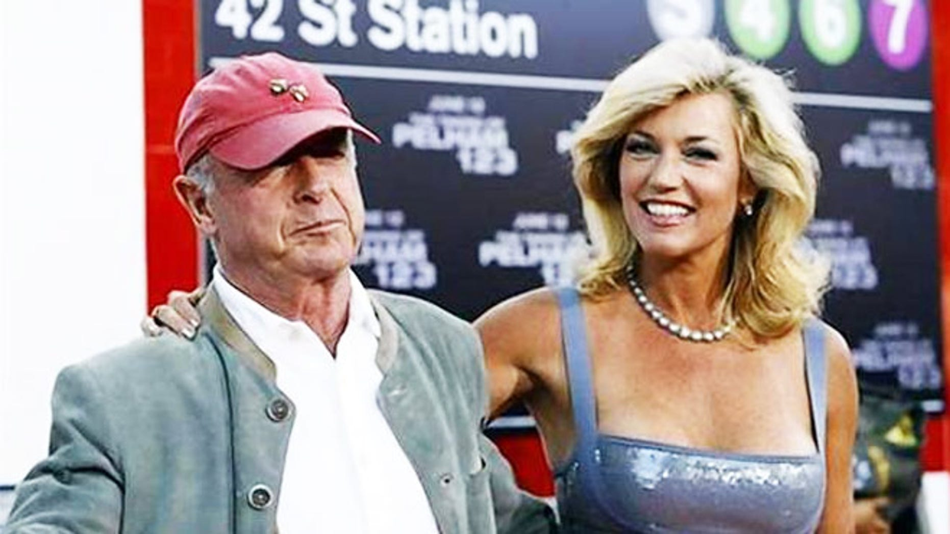 """Tony Scot and his wife Donna at the premiere of """"The Taking of Pelham 1 2 3."""""""