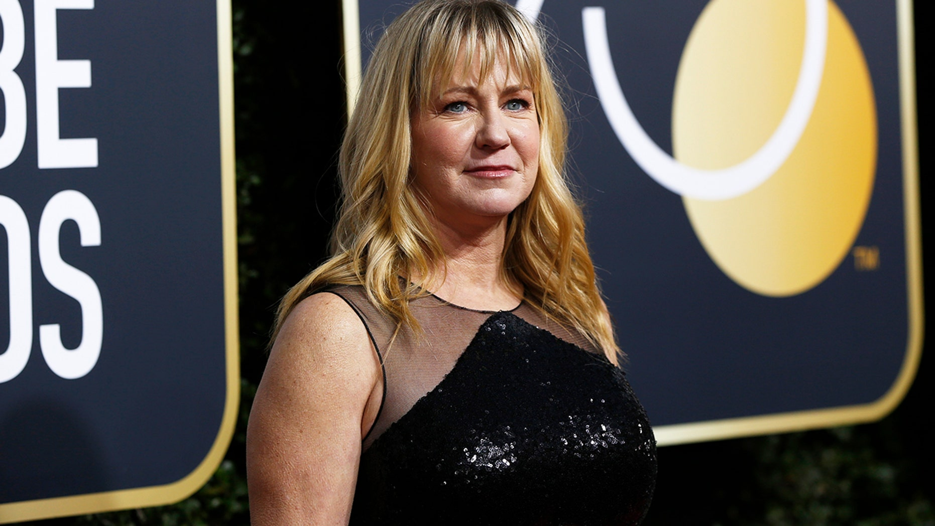 "Tonya Harding attended the Golden Globes to promote the film about her life, ""I, Tonya."""
