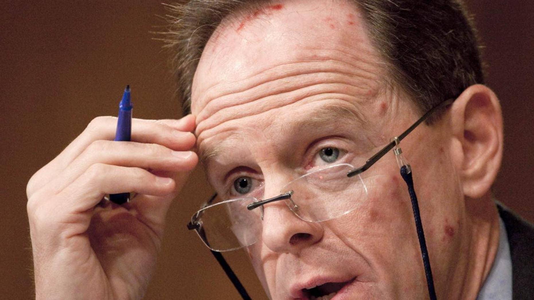 Sen. Pat Toomey, R-Pa.  (AP File Photo/Harry Hamburg)