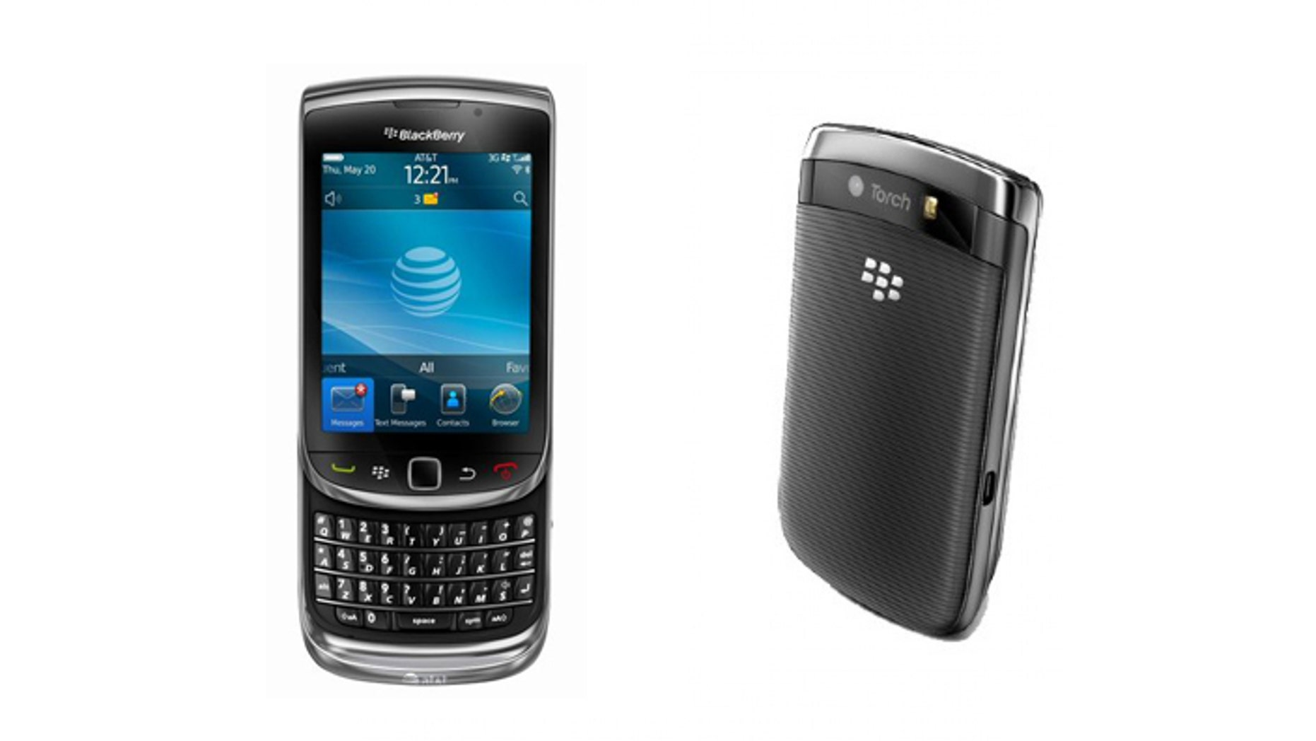 RIM's Blackberry Torch 9800 to take on the iPhone 4.