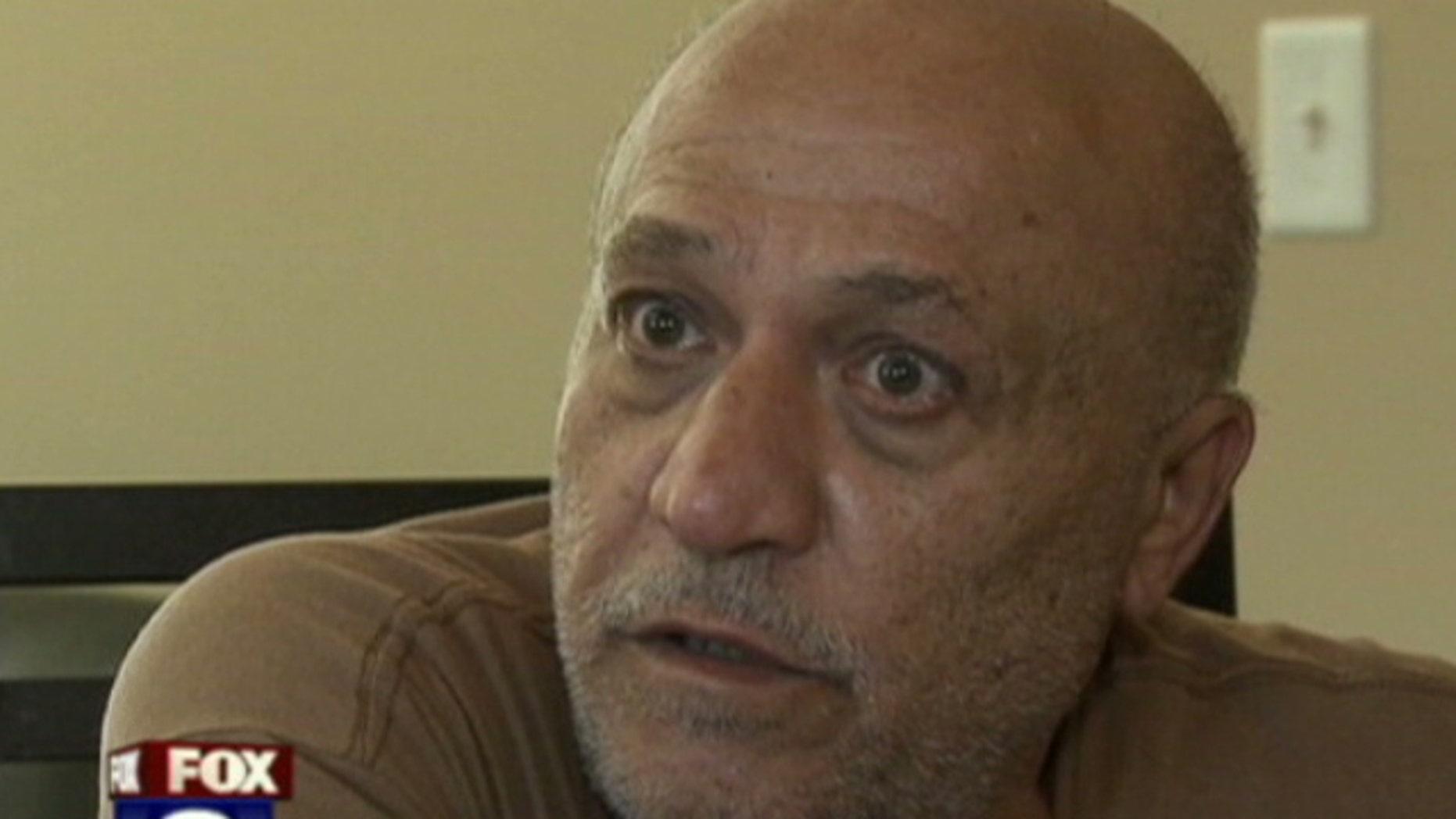 Ramsey Tossa says he was startled when DEA agents met him at his front door.