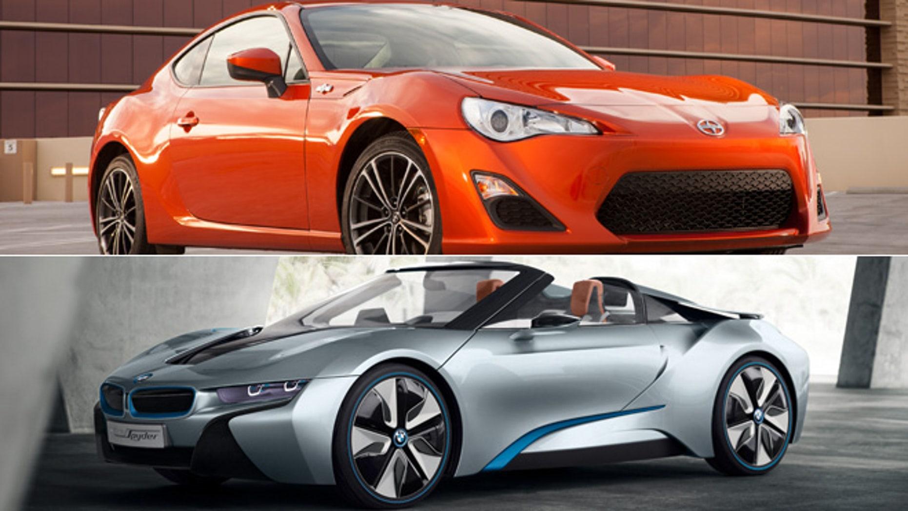Scion FR-S/BMW i8 Spyder Concept