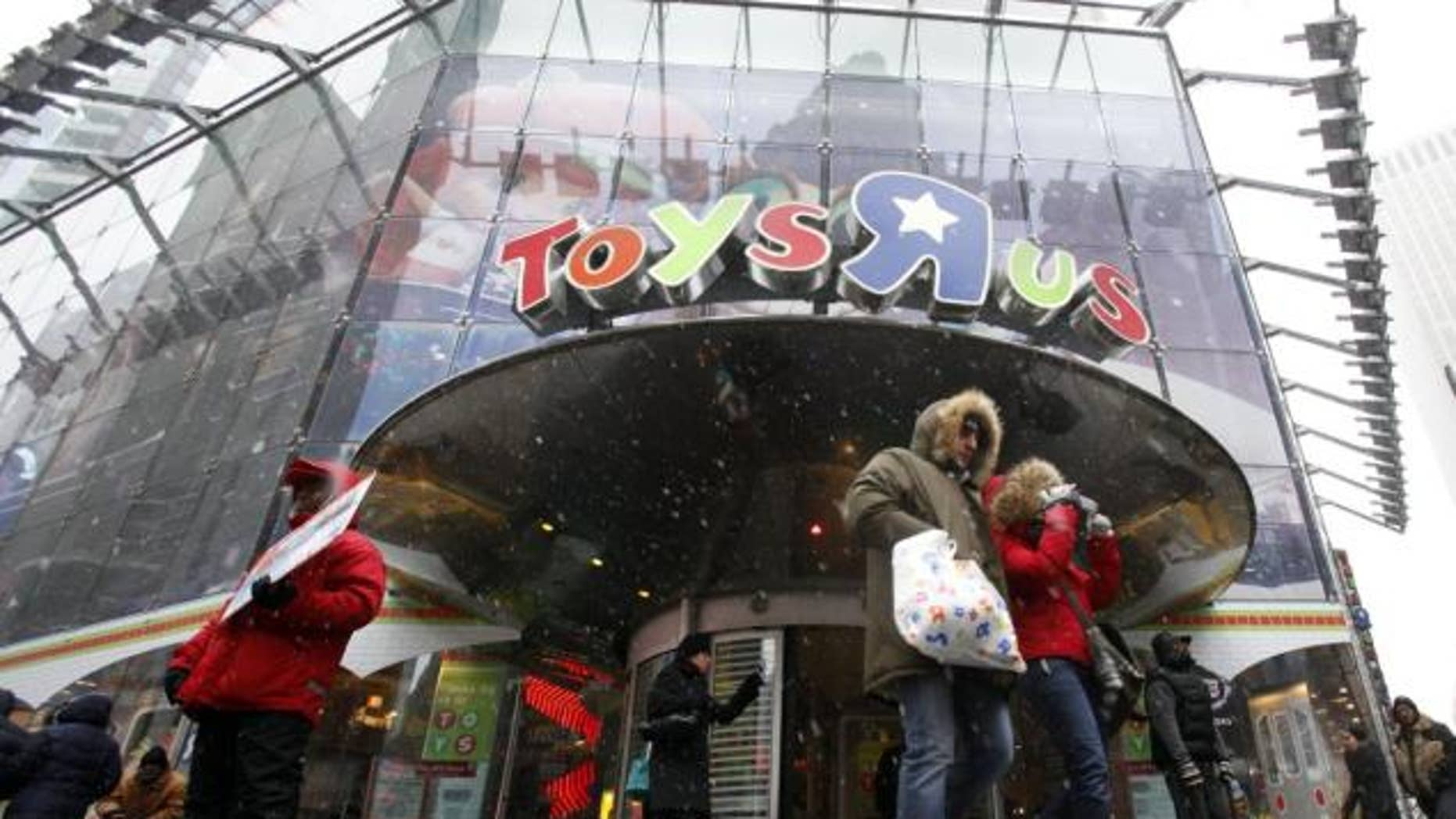 The Toys 'R' Us Times Square location has been open since 2001.