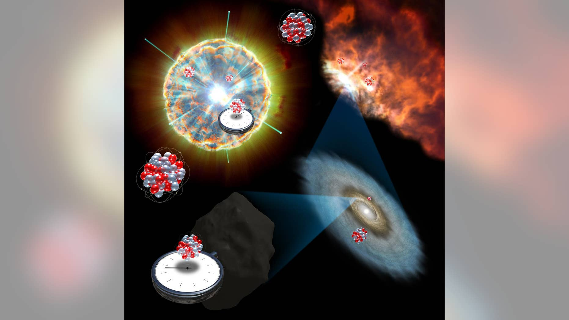 Trace elements found in meteorites shed light on the inner workings of supernova explosions, which release stellar material into space that is recycled to form new planets and stars.
