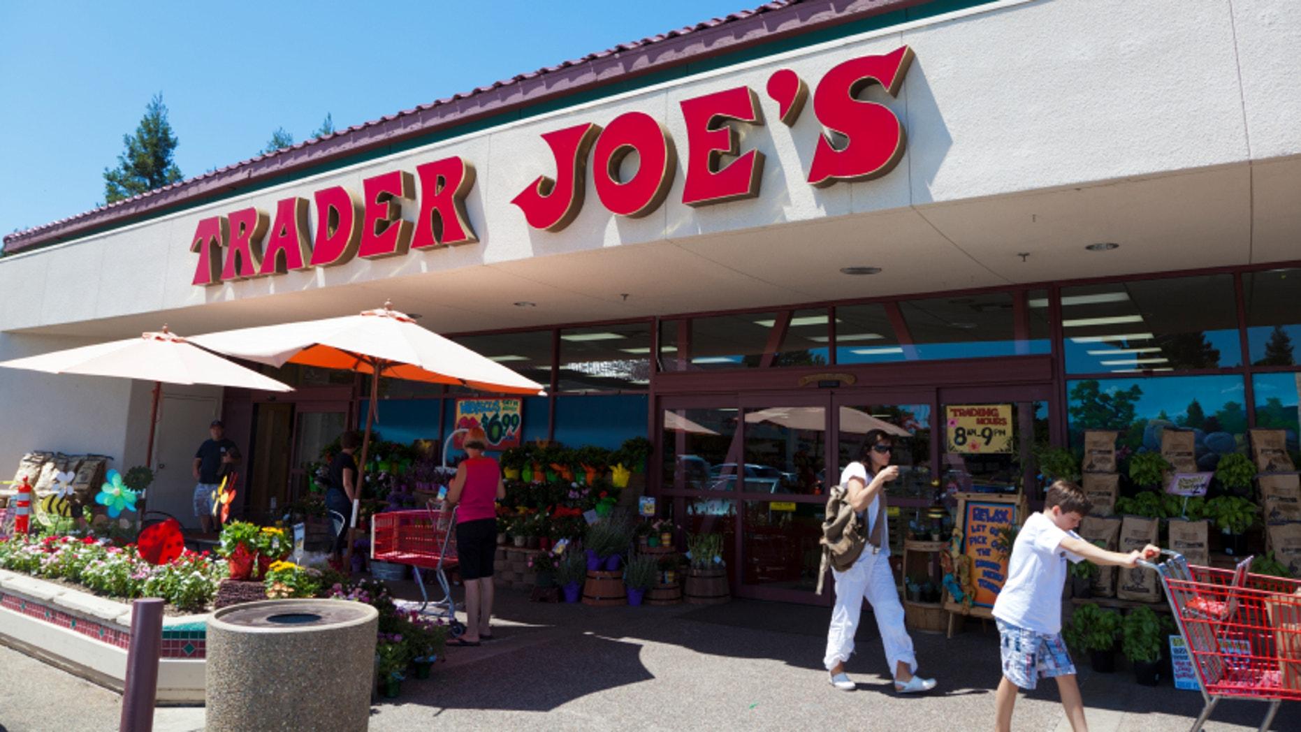 A Trader Joe's store in Fair Oaks, Calif.