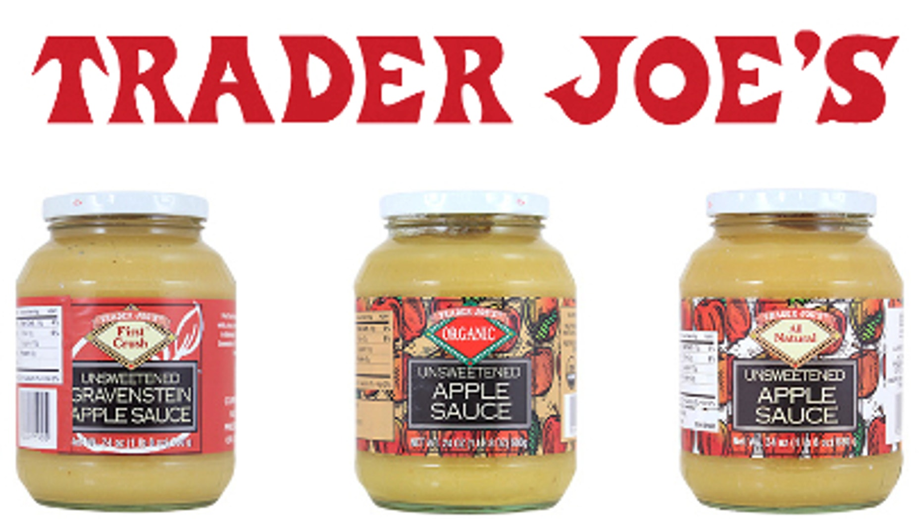 Trader Joe's issued the recall over concerns about potential pieces of glass in jars.