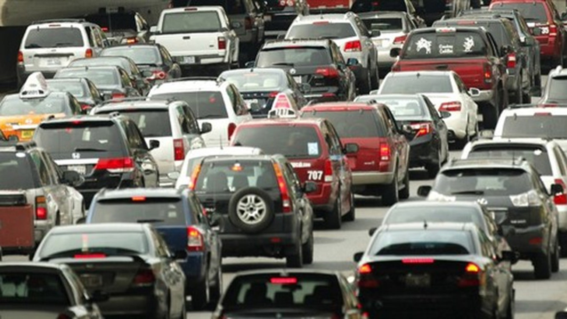 Stuck in traffic? There's an app for that.