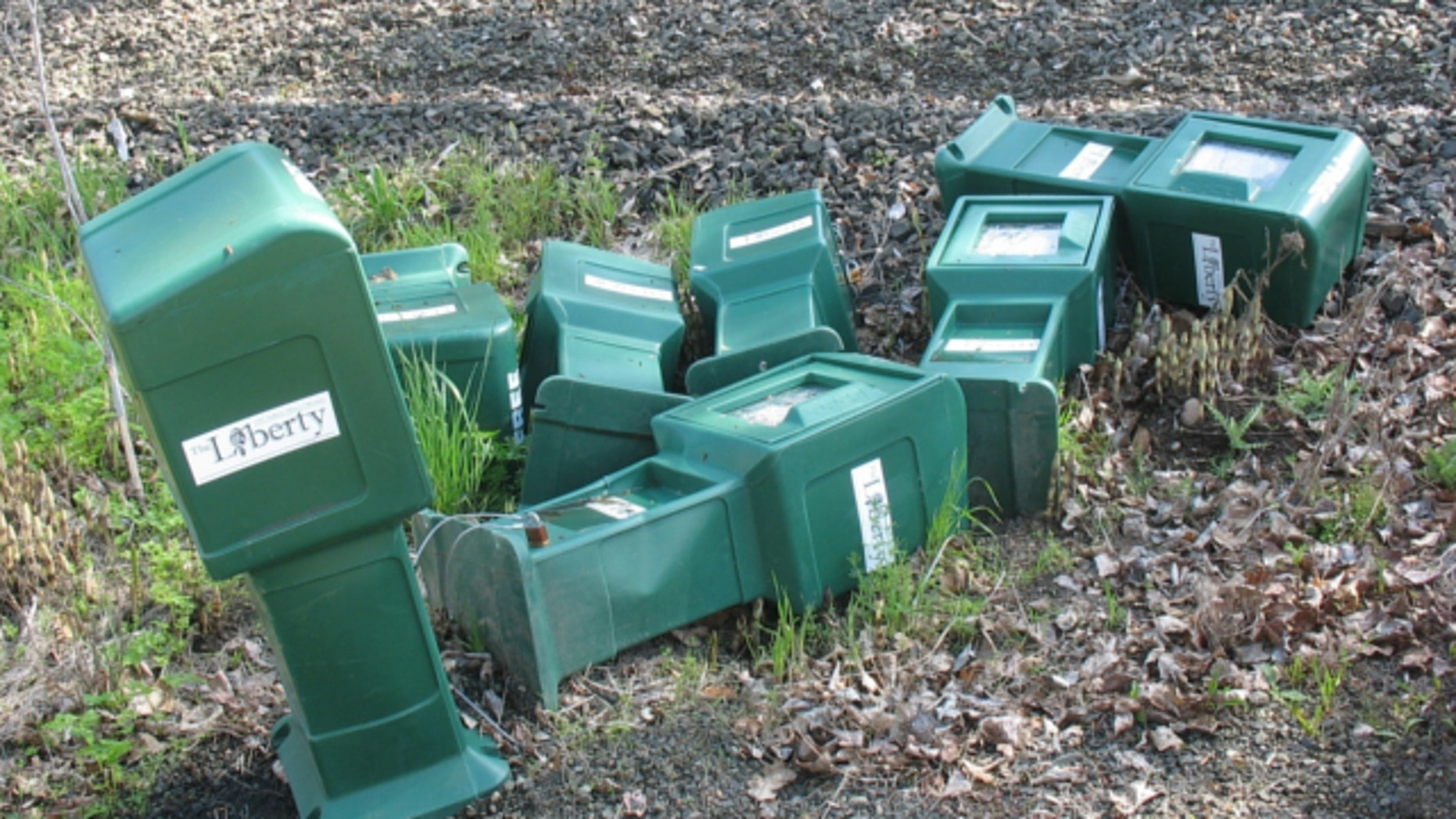 Supporters of the newspaper called The Liberty sued Oregon State in 2009, alleging the university president and other school officials granted the official campus newspaper numerous bins while trashing distribution boxes for The Liberty.