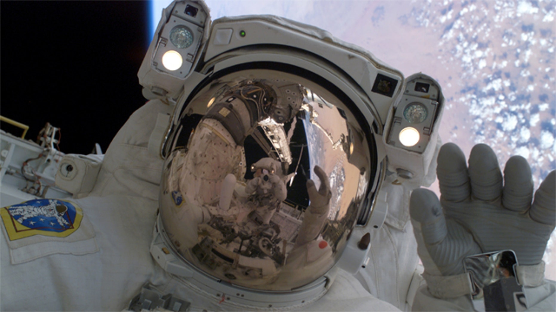 Could space travel cause permanent eye damage?