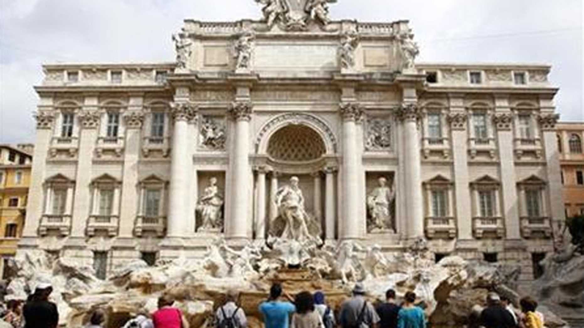 The Trevi Fountain got a $2.2M makeover after pieces of its cornice began falling off.