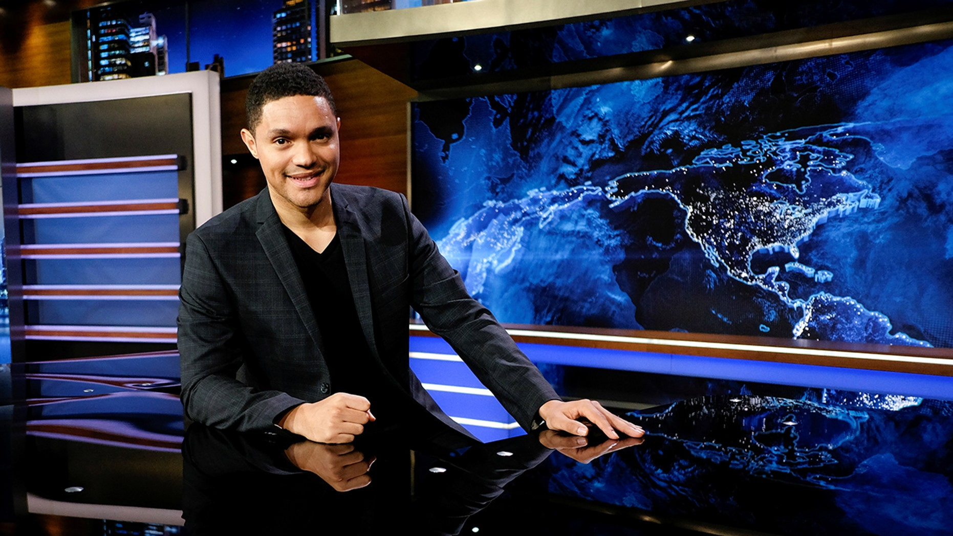 "Trevor Noah of Comedy Central's ""The Daily Show."""